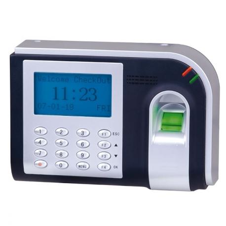Gestion d'accès biométrique contrôlable par PC fourni avec logiciel