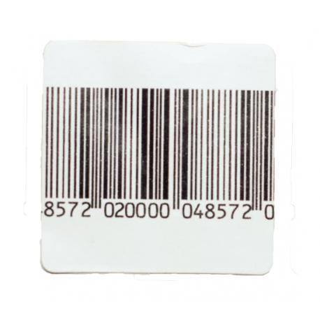 RF 4cm x 4cm 8.2Mhz Code Barre, le rouleau de 1000